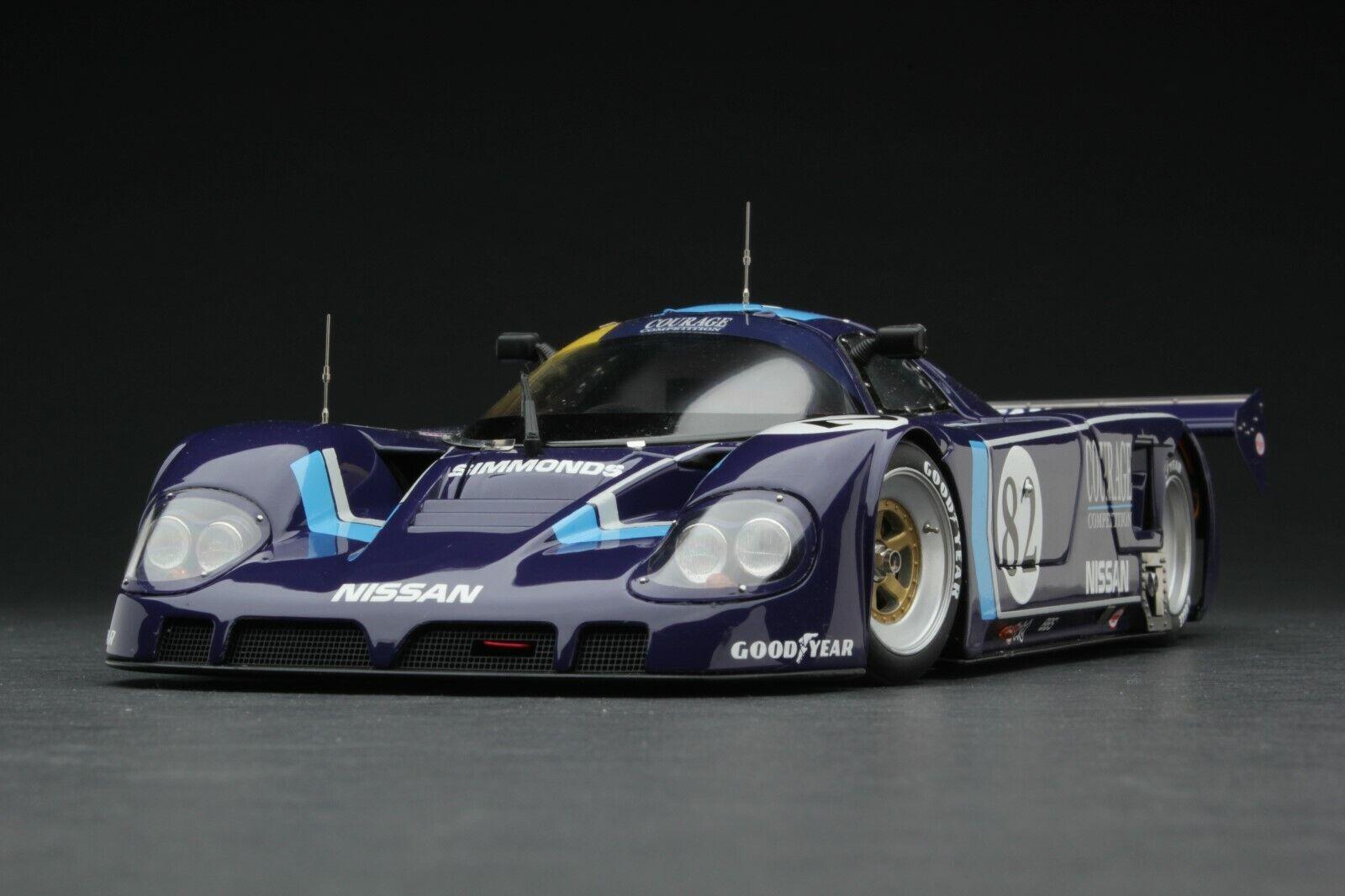 encuentra tu favorito aquí Exoto     1 18   1990   coraje Nissan R89C Le Mans privado Equipo     RLG88107  precioso
