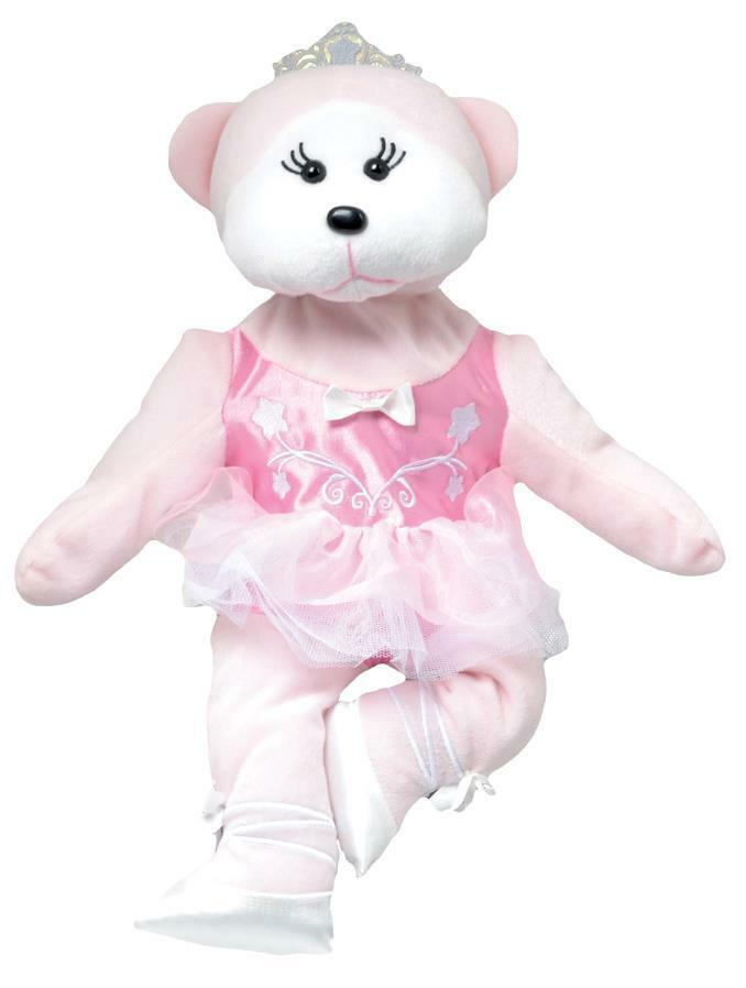 "2013 SKANSEN CUDDLY KID  /""ALLEGRA THE BALLERINA BEAR/""  MINT WITH MINT TAG  MAY"