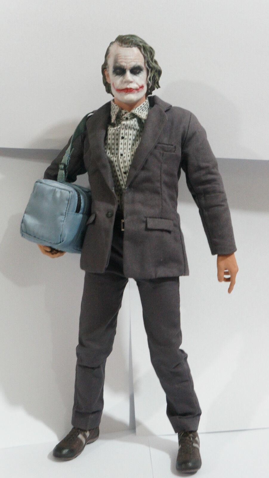 HOT TOYS MMS79 BATMAN DARK KNIGHT Joker Robber Bank action figure