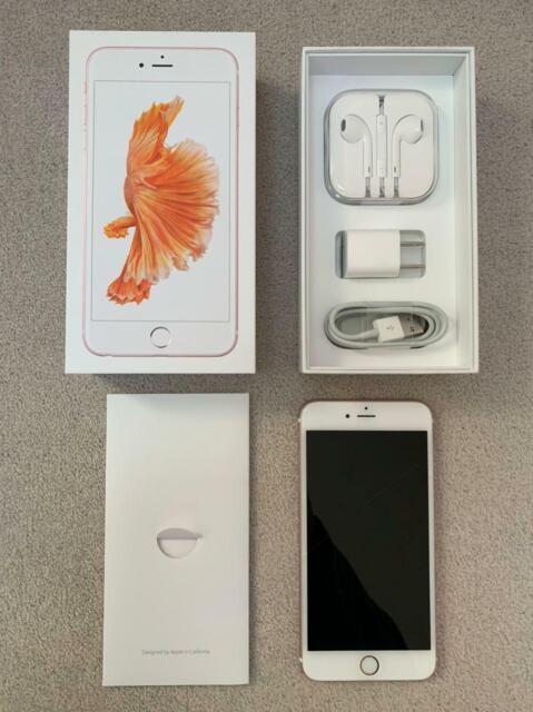 Apple iPhone 6s Plus - 32GB - Rose Gold (Unlocked) A1634 (CDMA + GSM)