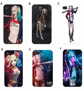 reputable site 487f6 5766b Details about Suicide Squad - Harley Quinn - Phone Case - iPhone  4/4s/5/5s/5c/6/6+/7/7+/8/8+/X