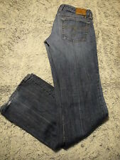LUCKY BRAND ~ LOLA BOOT CUT ~ Low Rise Stretch Jeans Size 2/26 - 29W 31L US MADE