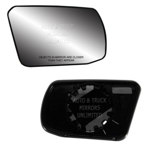 Fits Altima 07-12 Sedan Passenger Side Mirror Glass With Back Plate