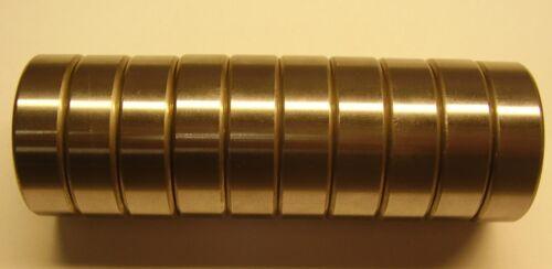 Double Shielded Deep Groove Ball Bearing 10 pcs NSK 6203Z -C3 Single Row