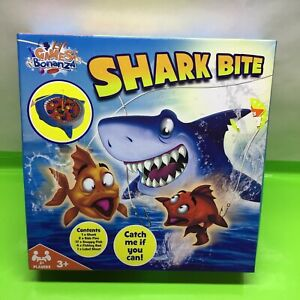 HTI Toys Traditional Board Games, Shark Bite, Fishing, Kids & Families - Age 3 +