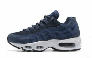 online retailer fc94a abf3b Details about MENS BLUE & WHITE AIR MAX 95's ATHLETIC SHOES SIZES 7-11