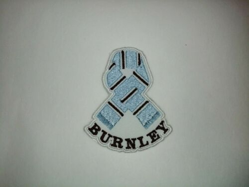 BURNLEY EMBROIDERED PATCH /'SCARF/' IRON ON // SEW ON BFC PERSONALISED
