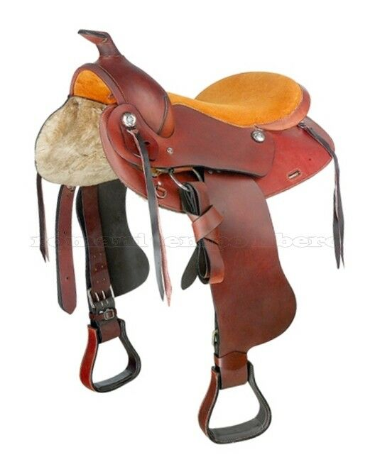 Sella Western Saddle Pleasure Leather