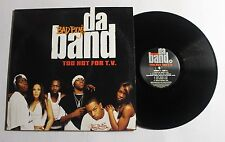 "BAD BOYS DA BAND Too Hot For TV 12"" Bad Boy Ent. Rec B0001118-2 US 2003 VG++ 13D"