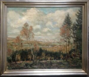 scraper-engineering-illegible-Signed-Antique-Oil-Paintings-1930-views-into-the-valley