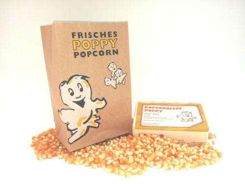 50 Liter Popcorn PAKET Popcorntüten PÖ Popcornfett  Popcornmais