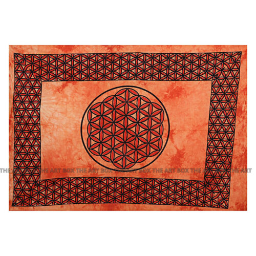Indian Mandala Cotton Wall Hanging Hippie Throw Home Decor Boho Poster Tapestry