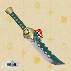 Cartoon-The-Seven-Deadly-Sins-Meliodas-Knife-Sword-Dagger-40CM-Cosplay-Props-Toy