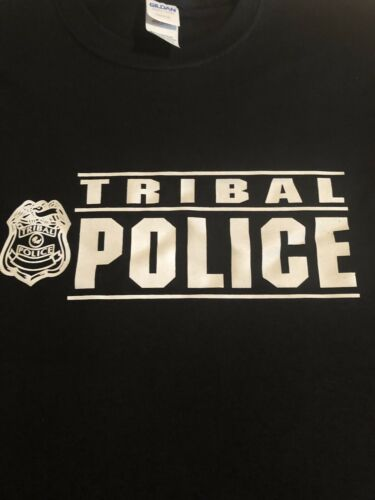 TRIBAL POLICE Native American Indian pow wow FREE SHIPPING t-shirt