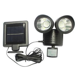 Avec 22led Éclairage Lampe Détecteur Luminaire Mouvement Solaire De eBdoCx