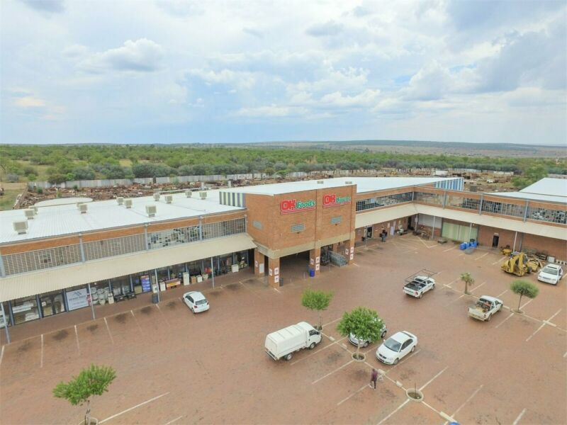 STRATEGICALLY SITUATED SHOPPING COMPLEX