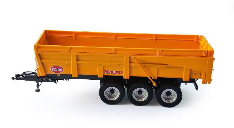 Maupu Trailer Limited Edition jaune 1 32 Model REPLICAGRI