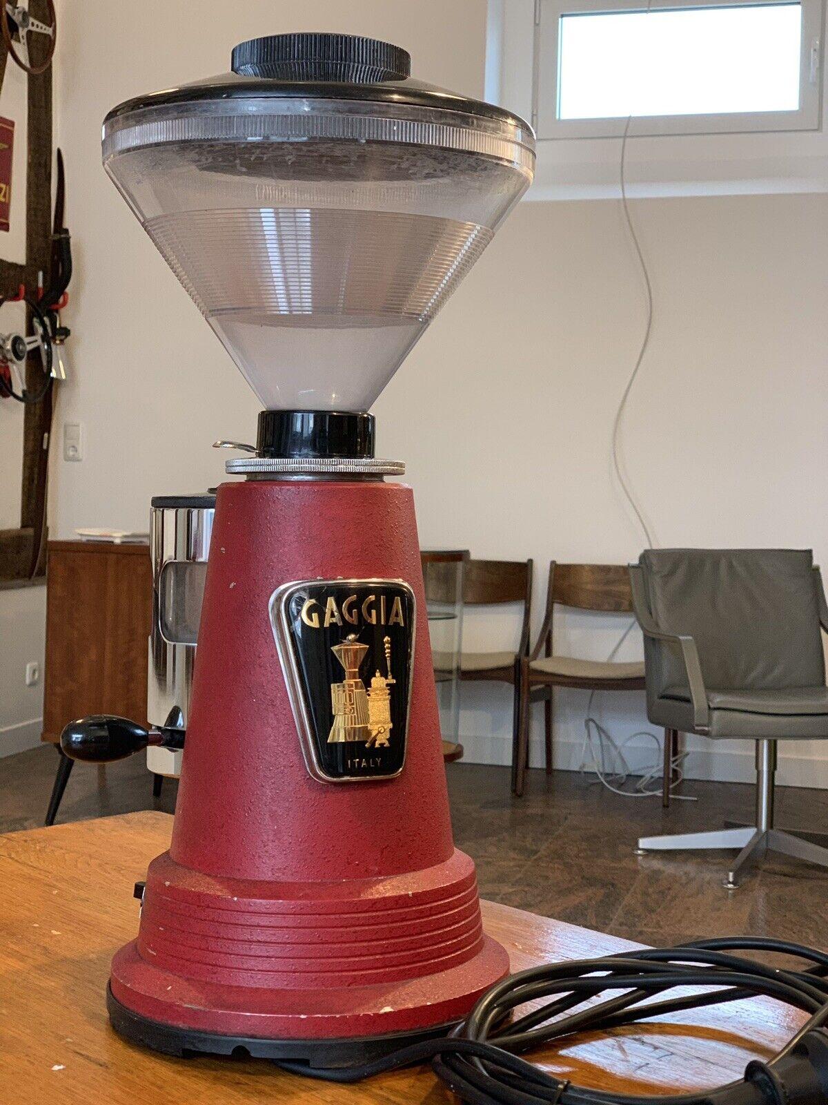 Gaggia Moulin Espresso Moulin Vintage état d'origine pleine Fonction No FAEMA