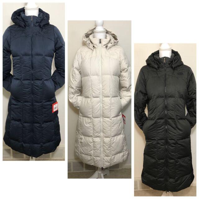 594997efc The North Face Women's Rhea Down Parka Coat Black Navy Blue White XS S M L  XL