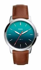 Fossil FS5440 The Minimalist Brown Leather Men's Watch