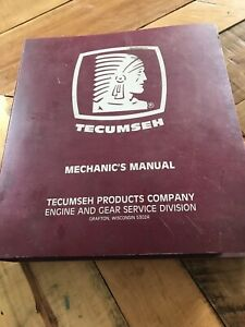 Tecumseh-Engines-Mechanic-039-s-Manual-1987