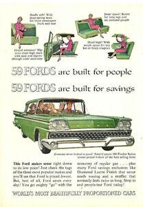 An Original 1959 Ford Ad