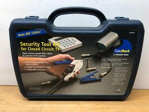 DATASHARK SECURITY TOOL KIT PA70042 BNC Cables Combo Cutter Crimper RG59