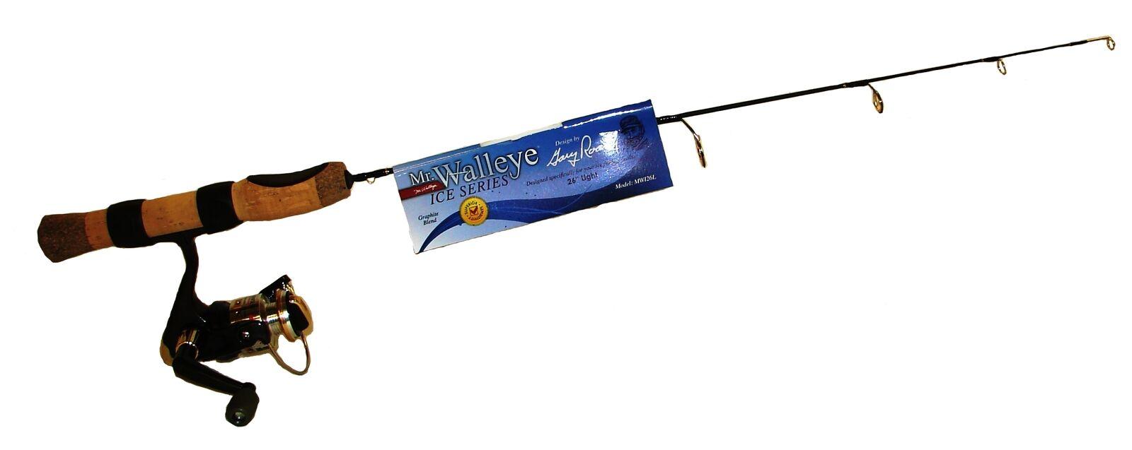 New Norsemen Mr Walleye 24in Medium Combo rod for larger jigs MWI24MC