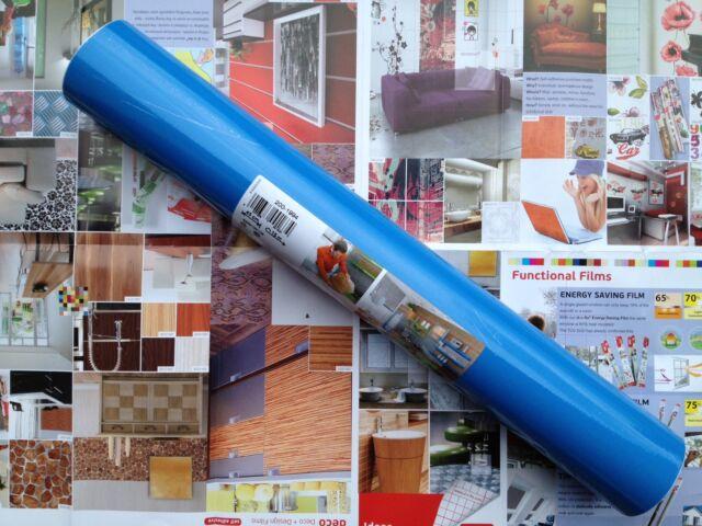 DC 200-8319 Gloss Air Blue Contact Shelf Cover' 67.5cm x 15m German Made