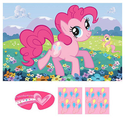 My Little Pony Friendship Sparkle Birthday Party Poster 8 Player Party Game Set