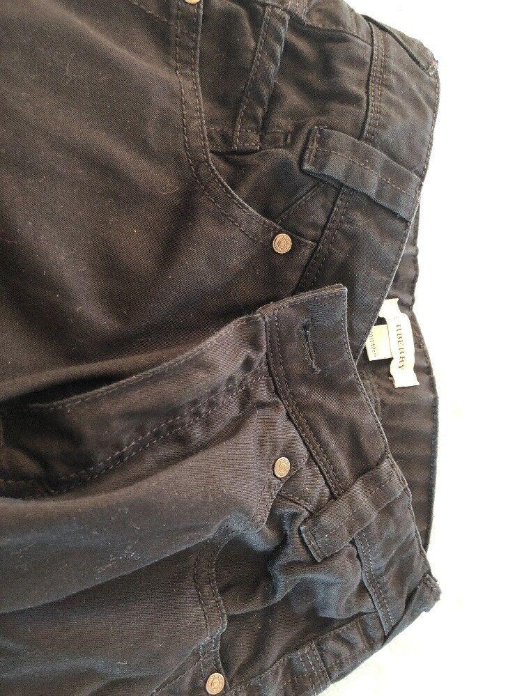Capable Pantalon Burberry 10 Ans Neuf Noir Riche Et Magnifique