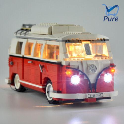 LED Light Kit For City Creator The Volkswagen T1 Camper Van - Lego 10220