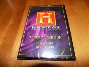 TALES-OF-THE-GUN-Guns-of-Revolution-Revolutionary-War-History-Channel-DVD-NEW