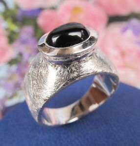 Ring-925er-Sterling-Silber-mit-Onix