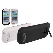 Funda bateria 3200mha Cargador Samsung Galaxy S3 I9300 NEGRO alta calidad