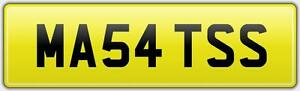 MATS-BARGAIN-REG-NUMBER-PLATE-MA54-TSS-NO-HIDDEN-FEES-MATT-MAT-MATTY-MATTHEW