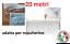 elastico-tubolare-rotondo-cordina-elastica-20-metri-bianco-2-5-mm miniatura 1