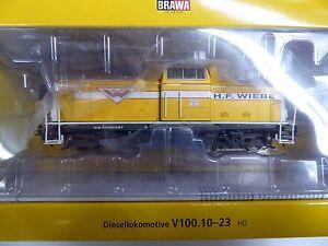 Brawa-HO-42852-Diesellok-BR-211-der-H-F-Wiebe-Ep-VI-Neuware
