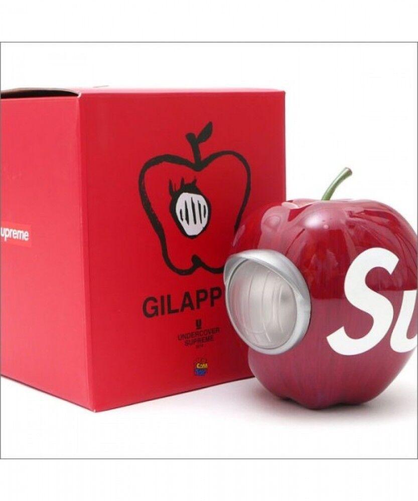 UNDERCOVER × MEDICOM TOY GILAPPLE Light ROT Apple 4