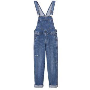 pantaloni di Pantaloni modo della dei dei tuta allentata pantaloni della delle tuta donne del larghi tuta denim della qawUrpIa