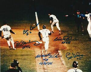 MOOKIE-WILSON-BILL-BUCKNER-8-x10-Autographed-Signed-Photo-80-039-s-Mets-REPRINT