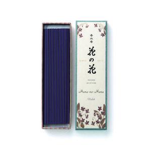 Incienso-Japones-Hana-No-Violeta-40-Varillas-Nippon-Kodo-Fabricado-en