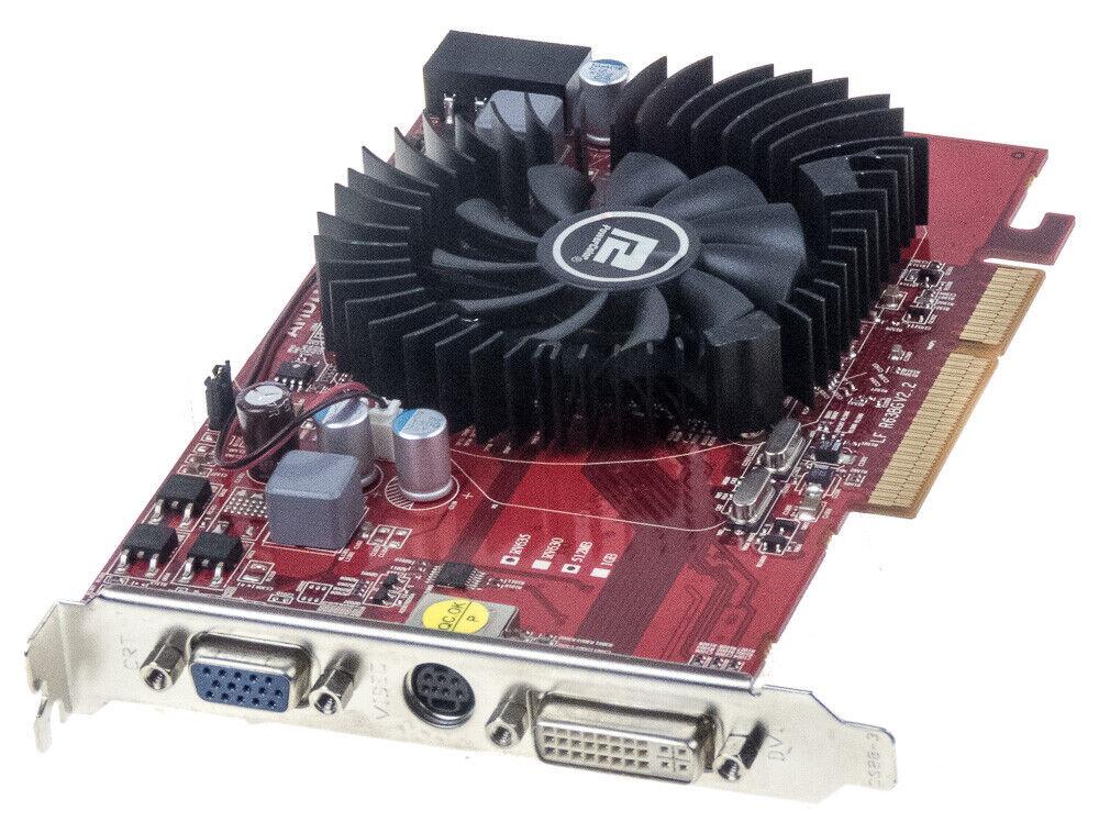 GRAPHICS CARD PowerColor AG3650 512MD2-V3 RADEON HD 3650 AGP 512MB DDR2