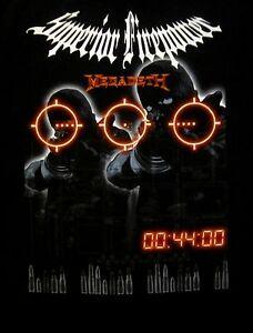 MEGADETH-cd-lgo-SUPERIOR-FIREPOWER-Official-SHIRT-LRG-New-oop