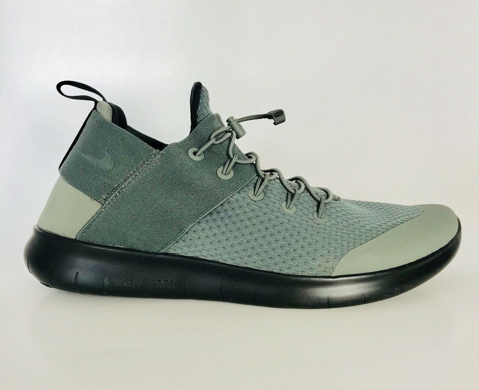 Nike Men's Free RN 880841-013 Size 10.5 Running Athletic Khaki Shoes Khaki Athletic Green New 7e1afe
