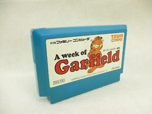 Famicom-A-week-of-GARFIELD-Cartridge-Only-Nintendo-fc