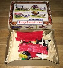 1950's BONNIE BILT EARLY AMERICANA #55 COVERED WAGON MODEL KIT - MINT IN BOX!