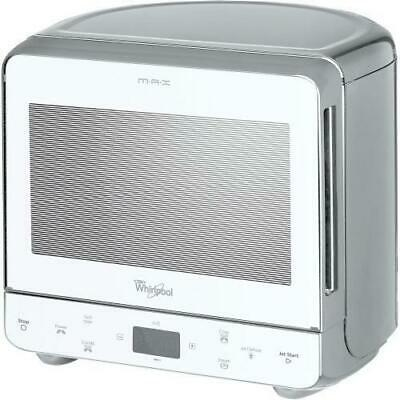 whirlpool max 39 wsl argent four micro ondes avec grill et cuisson a vapeur ebay