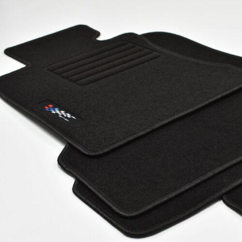 Logotipo gamuza auto alfombras tapices para bmw 3er e90 sedán a partir del año de fabricación 2005-2011