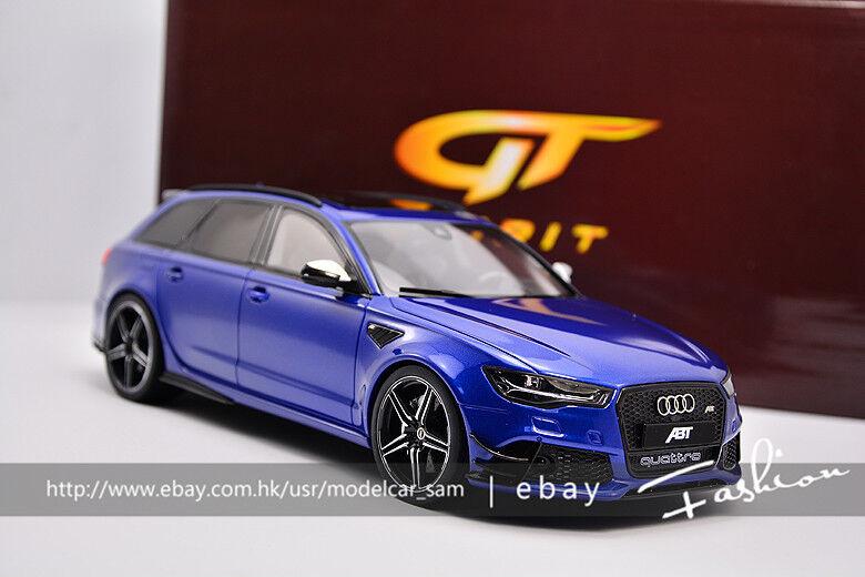 GT SPIRIT 1 18I ABT RS6 Performance Bleu